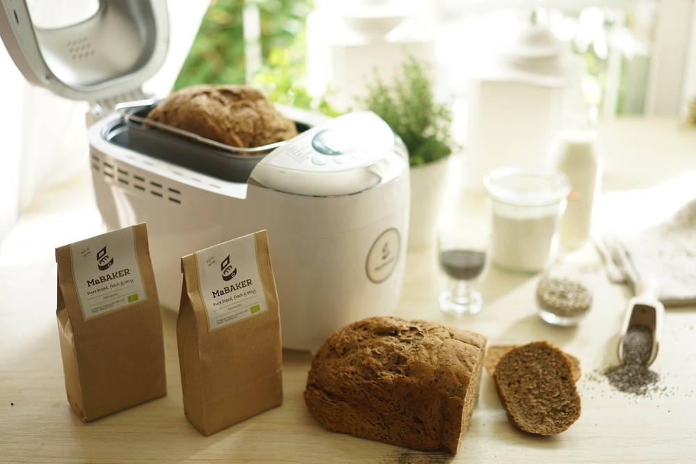 Preparar pan casero con MaBaker es más fácil de lo que crees